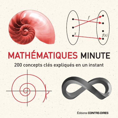 Mathématiques Minute : 200 concepts clés expliqués en un instant