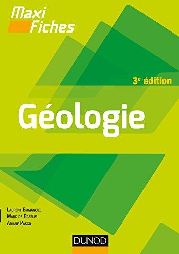 Maxi fiches de Géologie - 3e édition - En 85 fiches: En 85 fiches