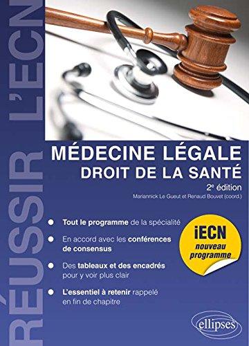 Médecine Légale Droit de la Santé