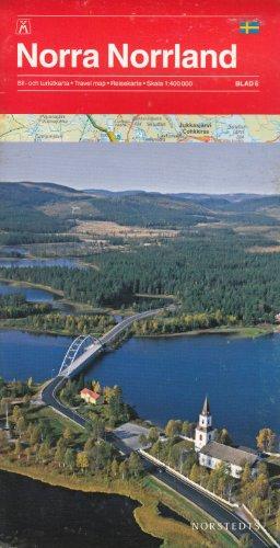 Nord de la Suède, Laponie vol. 6 (Norra Norrland) 1:400.000 carte de randonnée
