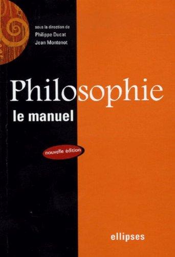 Philosophie : Le manuel