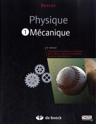 Physique I - Mécanique