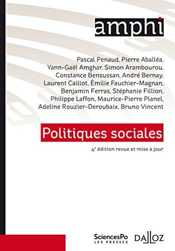 Politiques sociales - 4e ed.