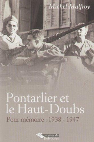 Pontarlier et le Haut-Doubs