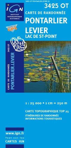 Pontarlier/Levier/Lac de St-Point GPS: IGN.3425OT