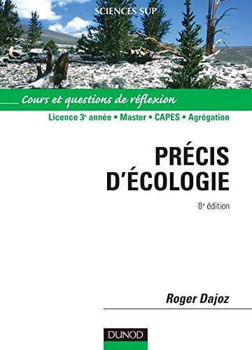 Précis d'écologie - 8ème édition