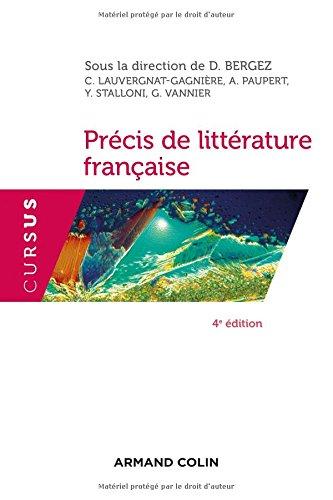 Précis de littérature française - 4e éd.