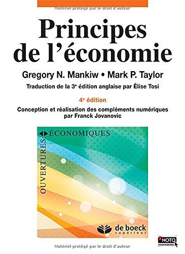 Principes de l'économie 4ème ED