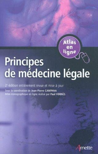 Principes de médecine légale