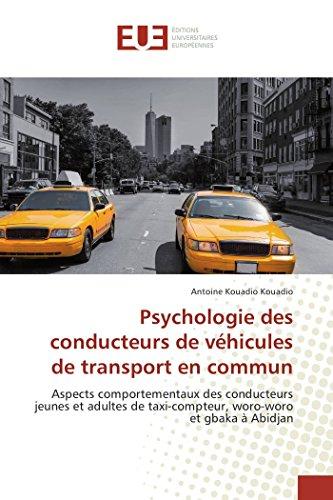 Psychologie des conducteurs de véhicules de transport en commun