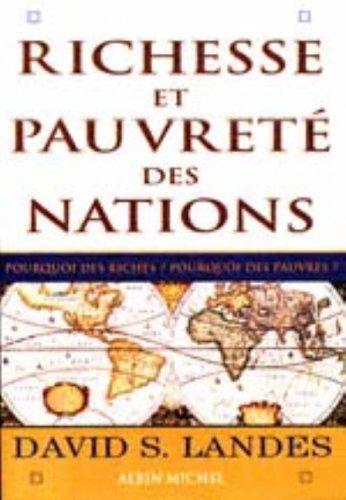 Richesse et pauvreté des nations