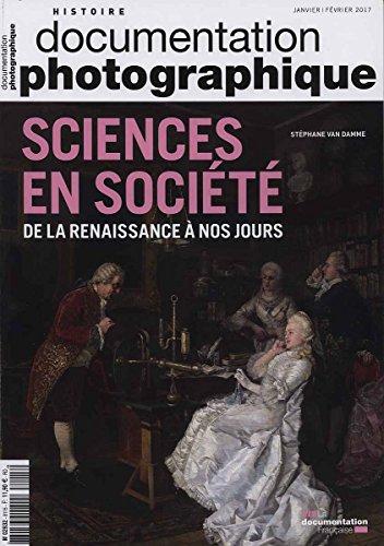 sciences en société de la Renaissance à nos jours DP - numéro 8115