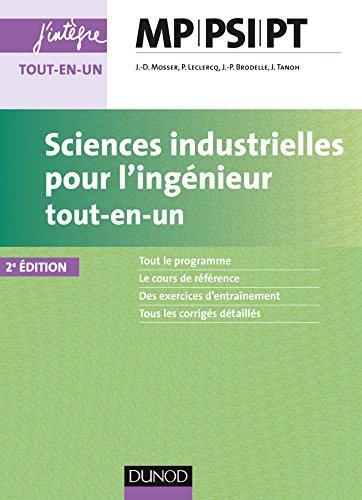 Sciences industrielles pour l'ingénieur MP, PSI, PT - 2e éd. (Concours Ecoles d'ingénieurs)