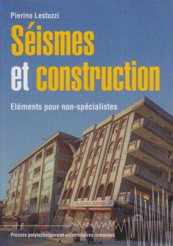 Séismes et construction: Éléments pour non-spécialistes