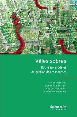 Villes sobres : Nouveaux modèles de gestion des ressources