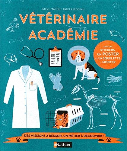 Vétérinaire académie - Livre-jeu - Dès 7 ans