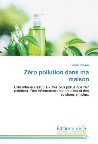 Zéro pollution dans ma maison