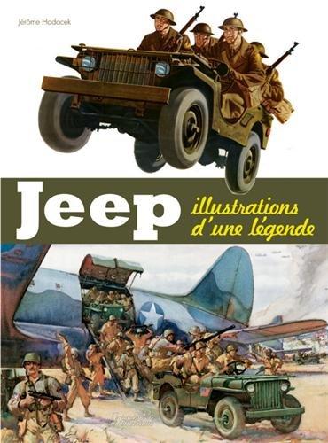 jeep illustrations d'une légende