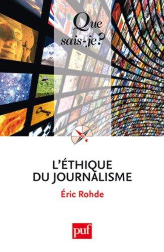 Éthique du journalisme