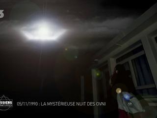 Documentaire 5 novembre 1990: La mystérieuse nuit des ovni (1/2)