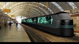 Documentaire Le moyen de transport de demain, le train