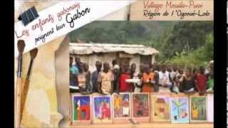 Documentaire Les enfants gabonais peignent leur Gabon
