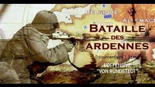 Documentaire La bataille des Ardennes