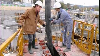 Documentaire C'est pas sorcier – Béton, les sorciers au pied du mur