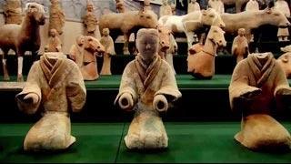 Documentaire Les soldats nus de l'empereur Han