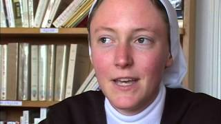 Documentaire Carmel du Verdun, artisanat et noviciat