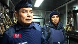 Documentaire Les armées privées dans la cible, la guerre en cdd