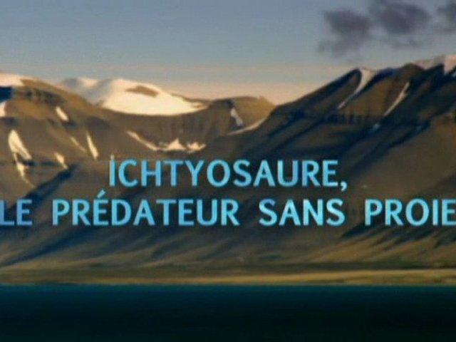 Documentaire Ichtyosaure: le prédateur sans proie