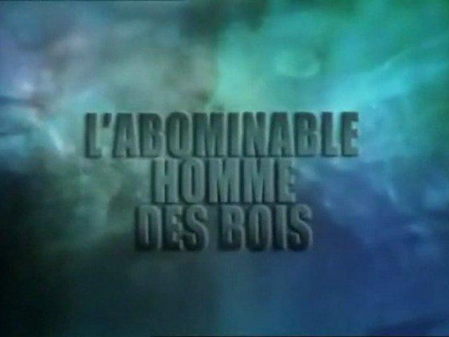 Documentaire L'abominable homme des bois