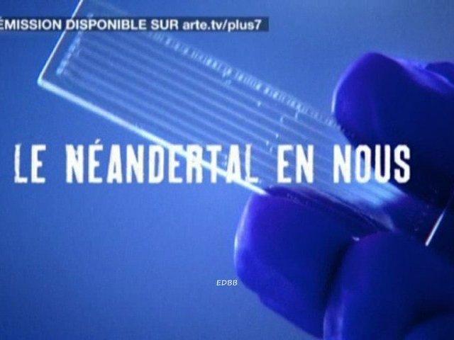 Documentaire Le néandertal en nous : les premiers gènes