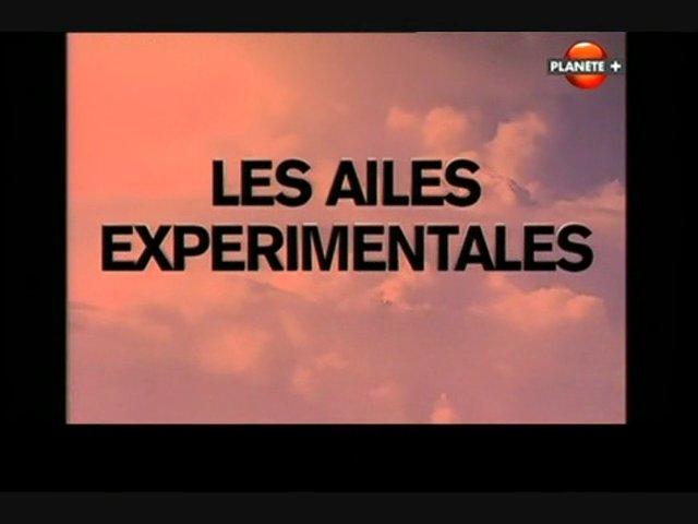Documentaire Les ailes expérimentales – Aux confins de l'atmosphère