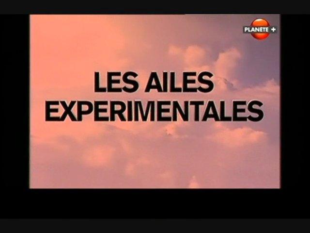 Documentaire Les ailes expérimentales – Flèche inversée