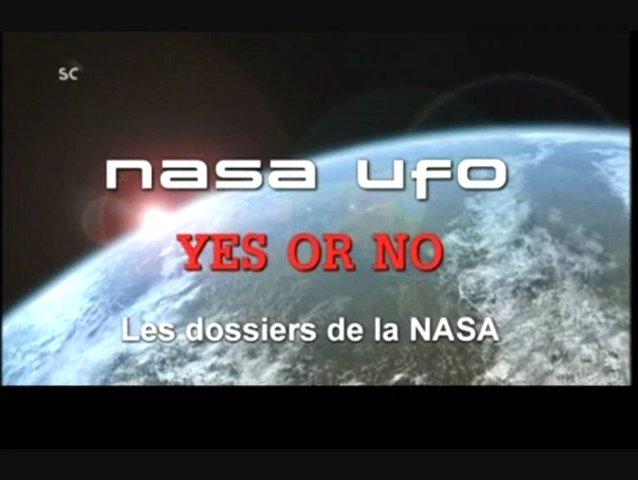 Documentaire Les dossiers de la NASA – UFO