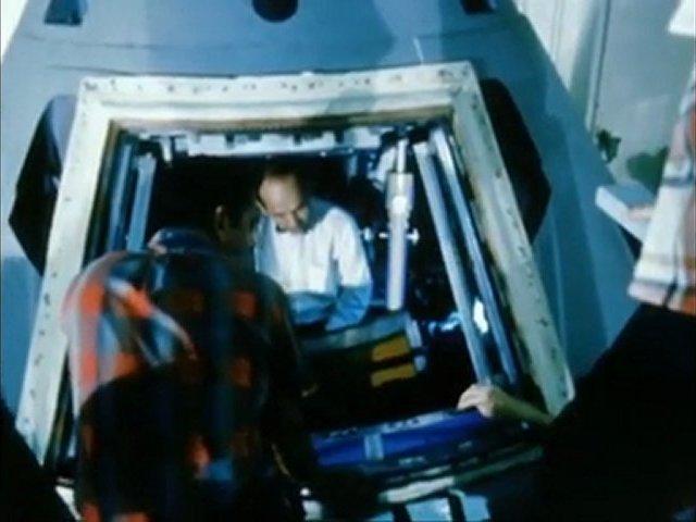 Documentaire A la conquête de la Lune – Le module de commande