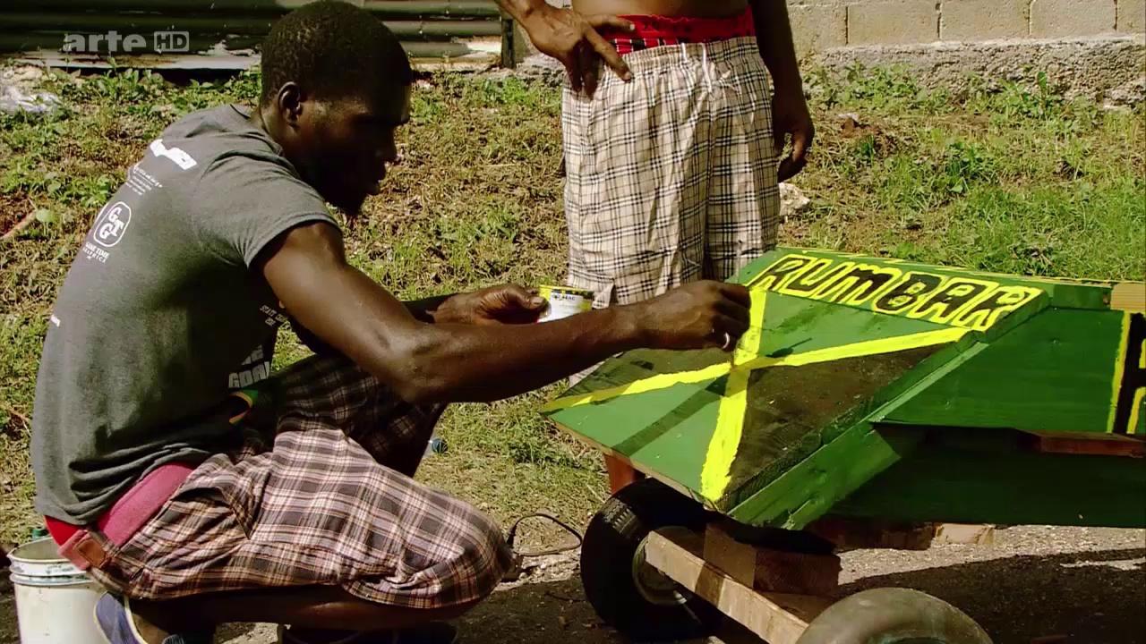Documentaire Course de chariots à la Jamaïque