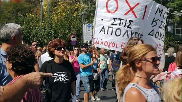 Documentaire La Grèce, crise et châtiments