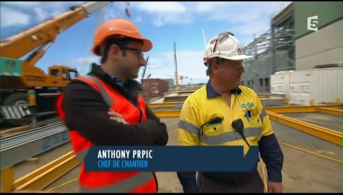Documentaire Usine de désalinisation en Australie