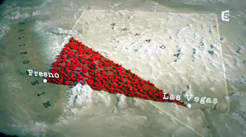 Documentaire Le mystère du triangle du Nevada