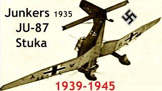 Documentaire Junkers JU-87 Stuka : le bombardier en piqué nazi