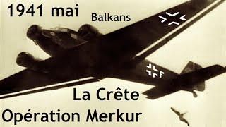Documentaire Opération Merkur : la crête
