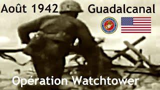 Documentaire A partir d'août 42 : la campagne de Guadalcanal