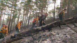 Documentaire Sibérie, les soldats du feu