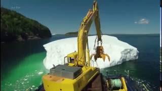 Documentaire Terre-Neuve, les chasseurs d'icebergs