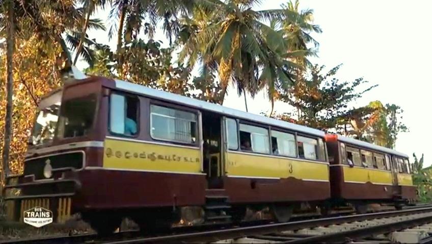 Documentaire Des trains pas comme les autres – Sri Lanka