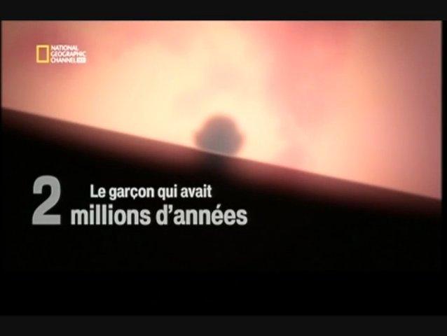 Documentaire Le garçon qui avait 2 millions d'années