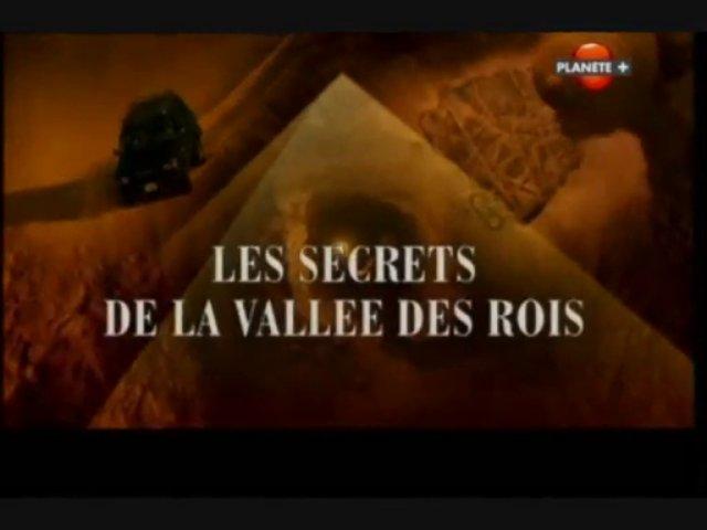 Documentaire Les secrets de la vallée des rois